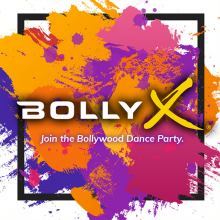 Bolly X splash logo